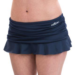 Women's Dolfin Aquashape Hip Minimizer Ruched Skirtini Bottoms