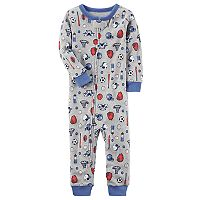 Toddler Boy Carter's Sports Footless Pajamas