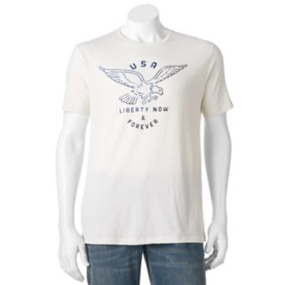 "Men's SONOMA Goods for Life™ ""USA Liberty Now & Forever"" Tee"