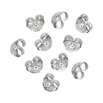 PRIMROSE Sterling Silver Replacement Earring Backing Set