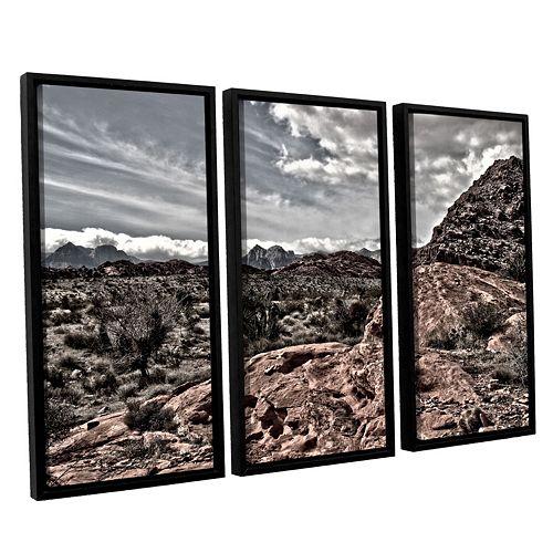 ArtWall Fingertip Afternoon Framed Wall Art 3-piece Set