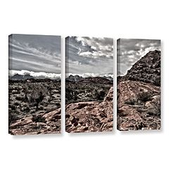 ArtWall Fingertip Afternoon Canvas Wall Art 3-piece Set