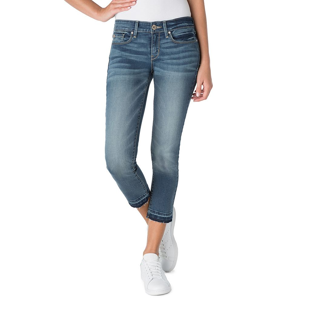 Juniors' DENIZEN from Levi's Low Rise Straight Crop