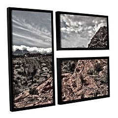 ArtWall Fingertip Afternoon Framed Wall Art 3-piece Set