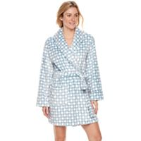 Women's SONOMA Goods for Life™ Embossed Plush Short Robe