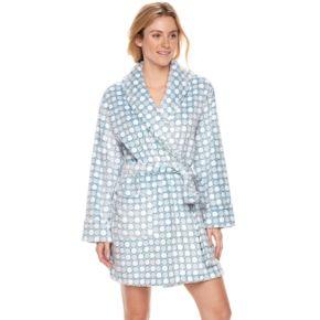 Women's SONOMA Goods for Life? Embossed Plush Short Robe