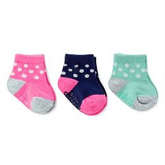 Baby Girl Carter's 3-pk. Dot Socks
