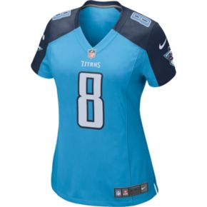 Women's Nike Tennessee Titans Marcus Mariota Game NFL Replica Jersey
