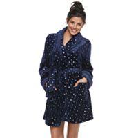 Women's SONOMA Goods for Life™ Plush Short Robe