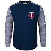 Men's Majestic Minnesota Twins Tech Fleece Tee