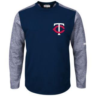 Men's Majestic Minnesota Twins Tech Fleece Tee