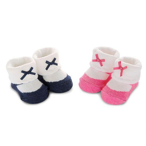 Baby Girl Carter's 2-pk. Mary Jane Bootie Socks