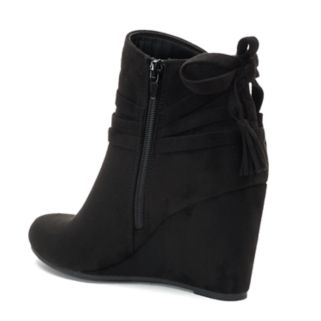 madden NYC Vickie Women's Wedge Ankle Boots
