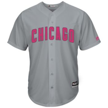 Men's Majestic Chicago Cubs Mother's Day Replica Jersey