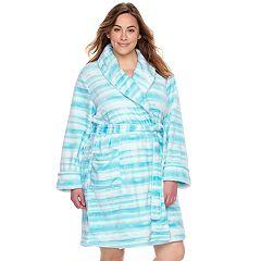 Plus Size SONOMA Goods for Life™ Plush Short Robe