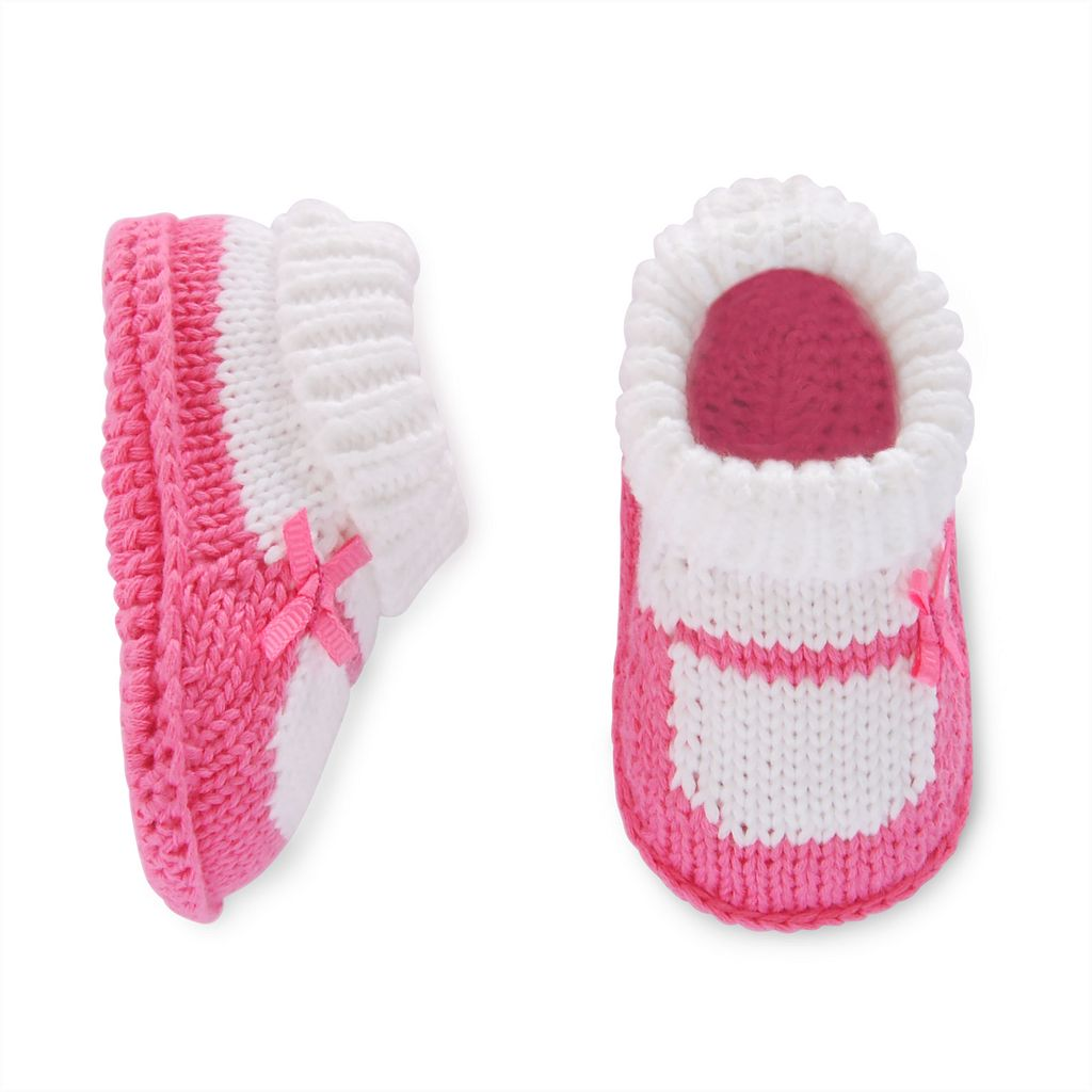 Baby Girl Carter's Mary Jane Knit Bootie Socks