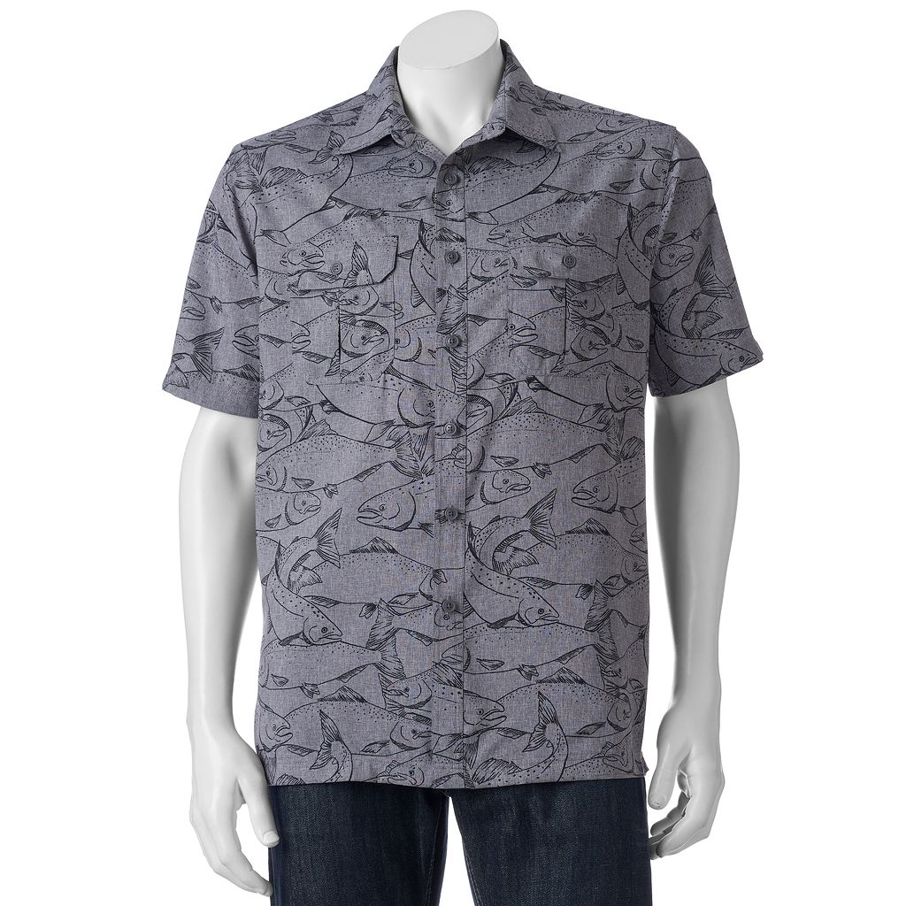 Men's Croft & Barrow® Classic-Fit Performance Outdoor Button-Down Shirt