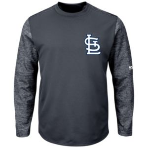 Men's Majestic St. Louis Cardinals Tech Fleece Tee