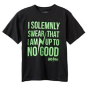 "Boys 8-20 Harry Potter ""I Solemnly Swear"" Tee"