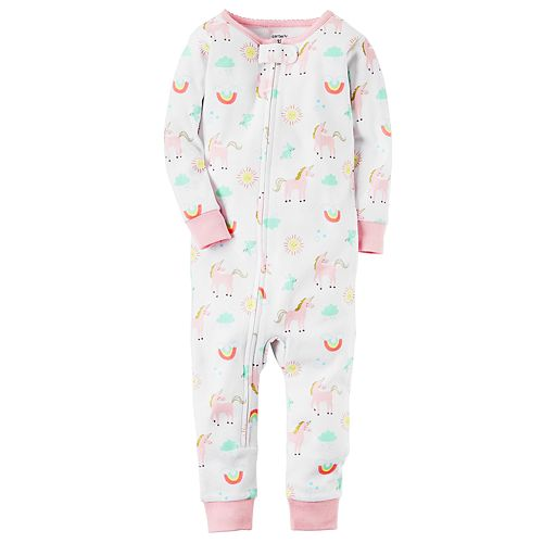 6603665fc Toddler Girl Carter's Unicorn Pajamas