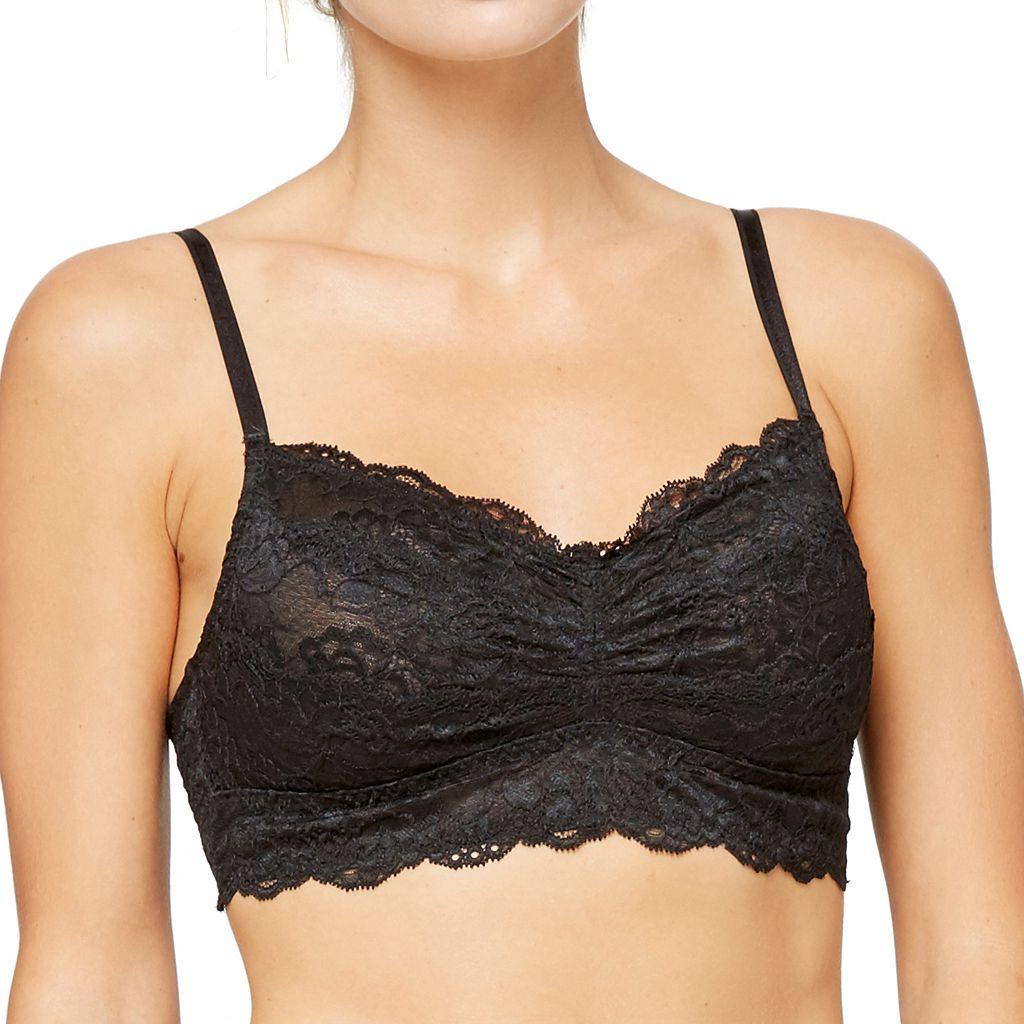 Montelle Intimates Bras: Scalloped Lace Bralette 9034