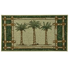 Bacova Classic Berber Oasis Palms Rug - 1'10'' x 3'4''