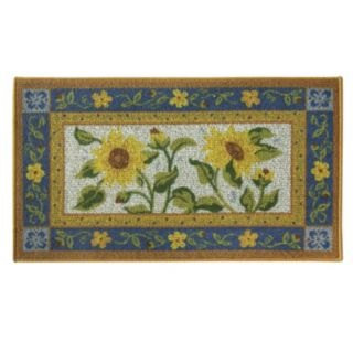 Bacova Classic Berber Sun Garden Floral Rug - 1'10'' x 3'4''