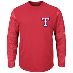 Men's Majestic Texas Rangers Tech Fleece Tee