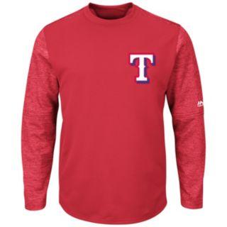 Men's Majestic Texas Rangers Tech Fleece Tee