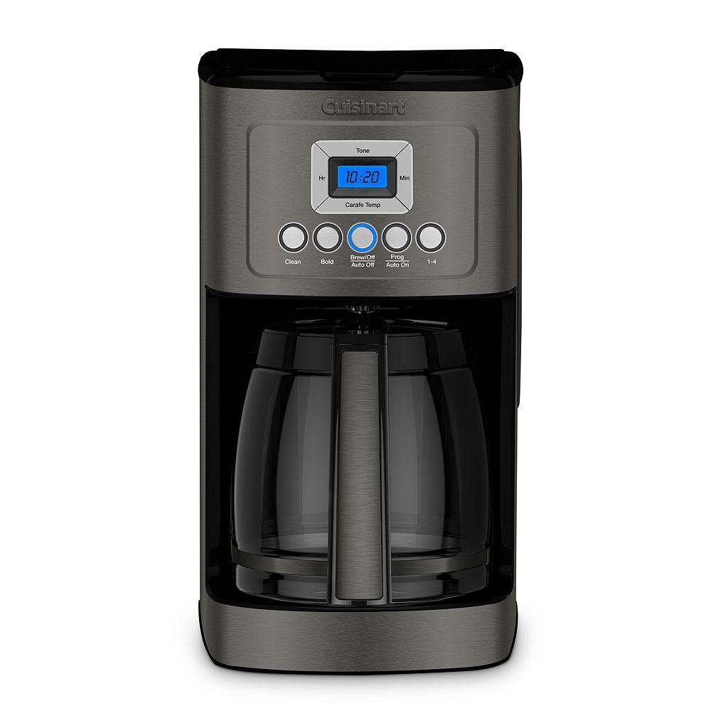 Cuisinart Black Stainless Steel 14-Cup Programmable Coffeemaker