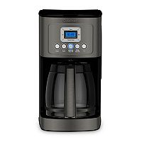 Cuisinart Black Stainless Steel 14-Cup Programmable Coffeemaker