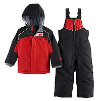 Toddler Boy ZeroXposur Heavyweight Colorblock Jacket & Bib Overall Snow Pants Set