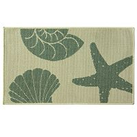 Bacova Reliance Stars & Shells Rug - 1'8'' x 2'9''