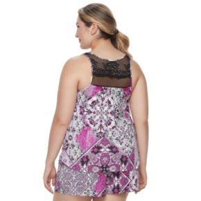 Plus Size Apt. 9® Pajamas: Must Have Tank & Shorts PJ Set