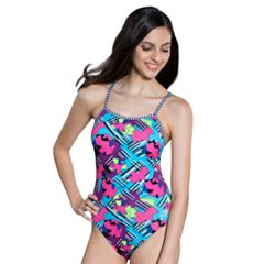 Women's Dolfin Uglies Printed One-Piece Swimsuit