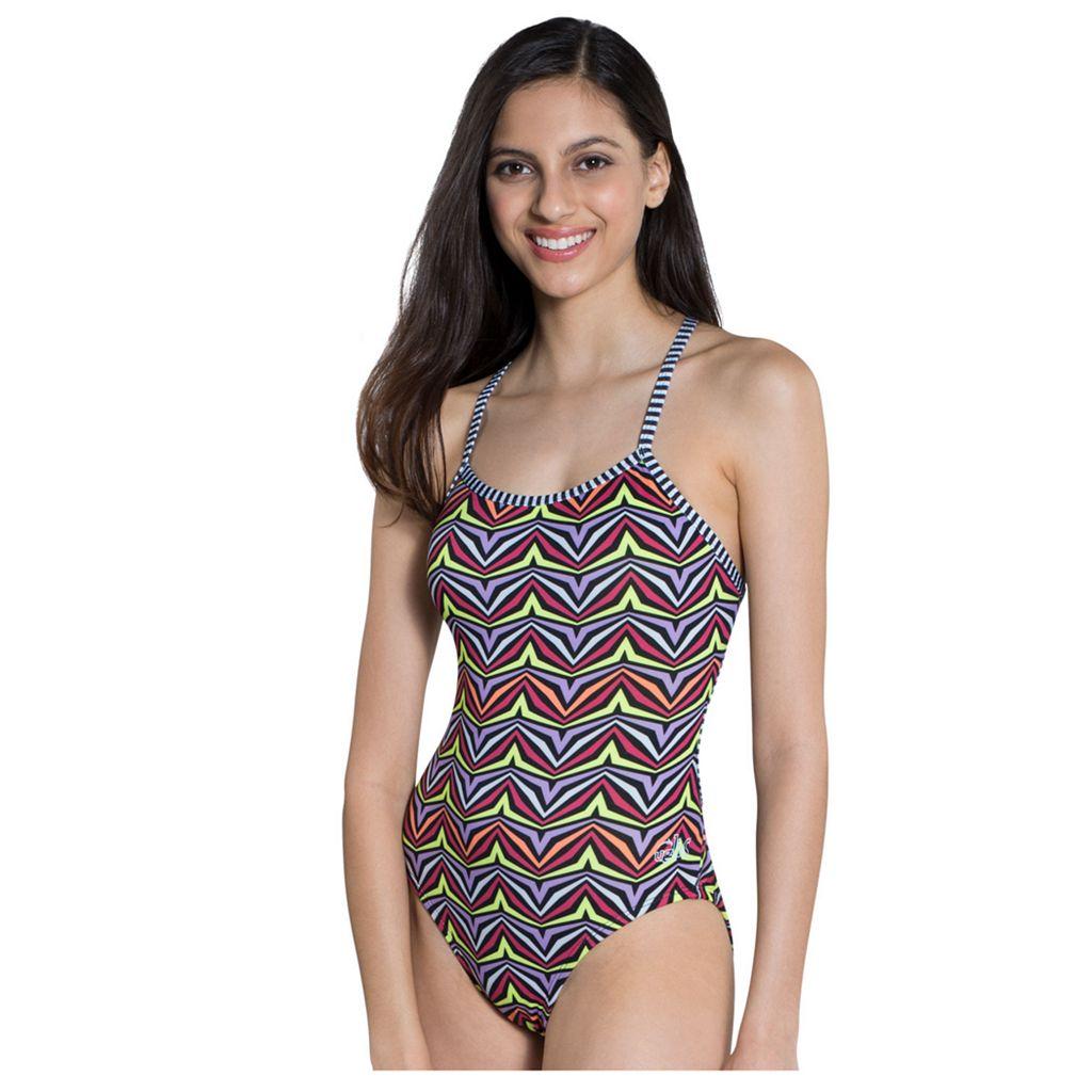 Women's Dolfin Uglies Printed One-Piece Swimsuit