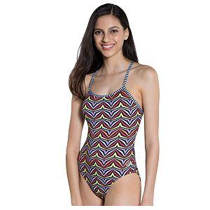 9e056f0ea0823 Women's Dolfin Uglies V-2 Back One Piece Swimsuit