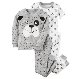 Toddler Boy Carter's 4-pc. Dog Tops & Pants Pajama Set