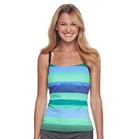 Women's Nike Optic Shift Racerback Tankini Top