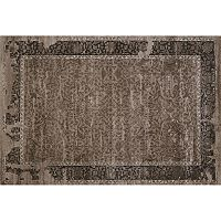 United Weavers Weathered Treasures Relic Framed Floral Rug
