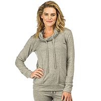 Women's PL Movement by Pink Lotus French Terry Cowlneck Sweatshirt