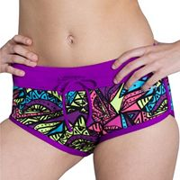 Women's Dolfin Bellas Print Boyshort Bottoms