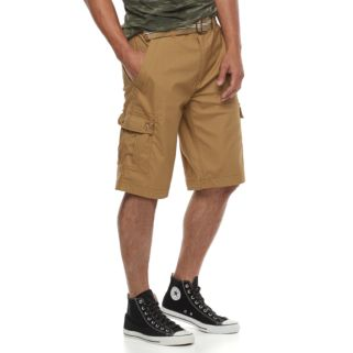 Men's Wear First Belted Cargo Shorts