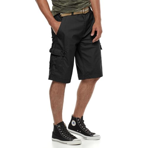 363cccb3b9 Men's Wear First Belted Cargo Shorts