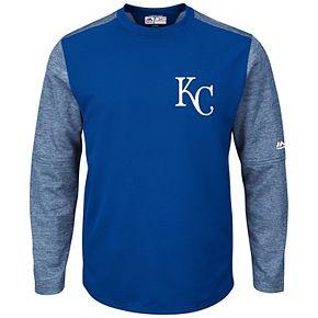 Men's Majestic Kansas City Royals Tech Fleece Tee