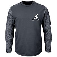 Men's Majestic Atlanta Braves Tech Fleece Tee