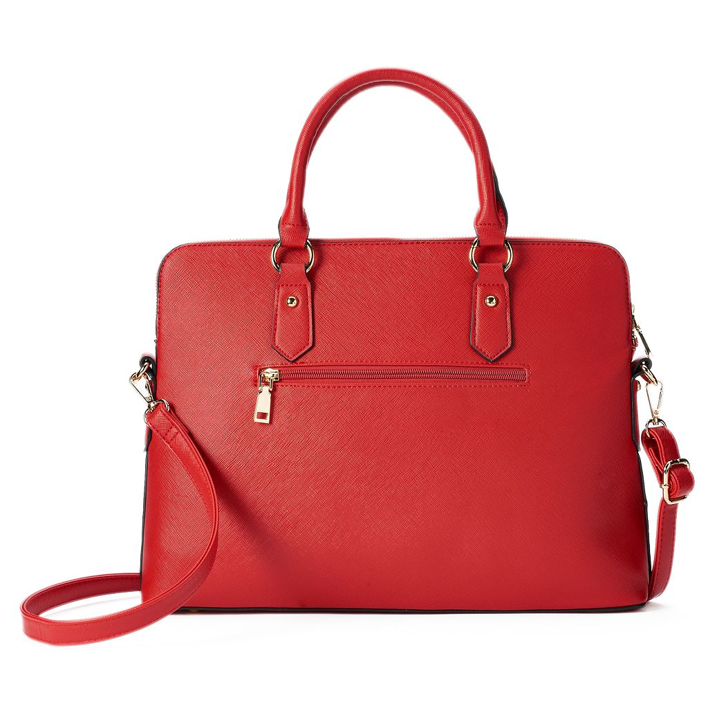 Deluxity Avery Satchel with Wallet