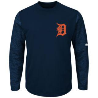 Men's Majestic Detroit Tigers Tech Fleece Tee