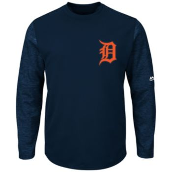 Men's Majestic Detroit Tigers Tech Fleece Tee