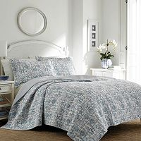 Laura Ashley Lifestyles Bettina Beach Quilt Set